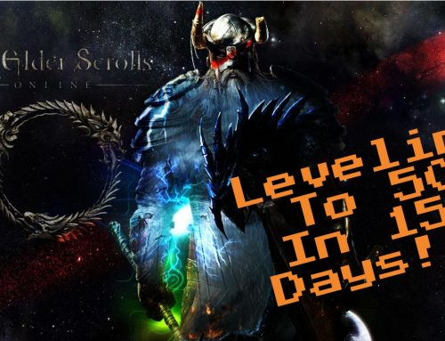 Elder Scrolls Online:  Level 50 in 15 days!