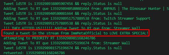 priority retweet customer gets tweet seen and retweeted instantly